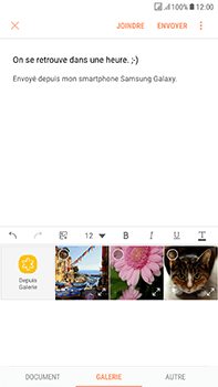 Samsung J730F Galaxy J7 (2017) (DualSIM) - E-mail - envoyer un e-mail - Étape 12