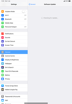 Apple iPad Pro 11 (2018) - Device - Software update - Step 6