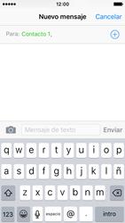 Apple iPhone SE - Mensajería - Escribir y enviar un mensaje multimedia - Paso 7