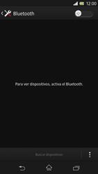Sony Xperia Z - Bluetooth - Conectar dispositivos a través de Bluetooth - Paso 5