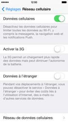 Apple iPhone 5s - Réseau - Changer mode réseau - Étape 5