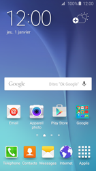 Samsung Galaxy S6 - Applications - Supprimer une application - Étape 1