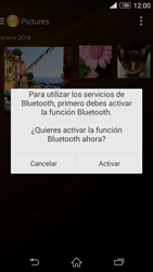 Sony Xperia Z3 - Bluetooth - Transferir archivos a través de Bluetooth - Paso 14