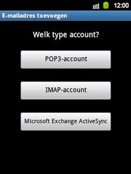 Samsung S5360 Galaxy Y - E-mail - e-mail instellen: IMAP (aanbevolen) - Stap 7