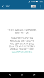 HTC One A9 - Wi-Fi - Connect to a Wi-Fi network - Step 5