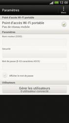HTC One S - Internet et connexion - Partager votre connexion en Wi-Fi - Étape 12