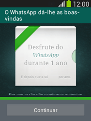 Samsung Galaxy Pocket Neo - Aplicações - Como configurar o WhatsApp -  10