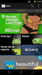 Sony LT30p Xperia T - Applicaties - Applicaties downloaden - Stap 17