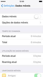 Apple iPhone SE iOS 10 - Internet no telemóvel - Como ativar os dados móveis -  4