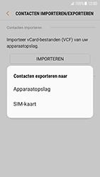 Samsung Galaxy S7 - Android N - Contacten en data - Contacten kopiëren van toestel naar SIM - Stap 8