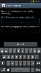 Samsung I9305 Galaxy S III LTE - E-mail - Account instellen (IMAP met SMTP-verificatie) - Stap 16