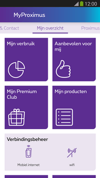 Samsung Galaxy S5 mini - Applicaties - MyProximus - Stap 12
