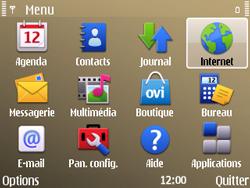 Nokia E72 - Internet - Navigation sur Internet - Étape 2