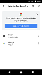 Sony Xperia XA2 - Internet - Internet browsing - Step 13