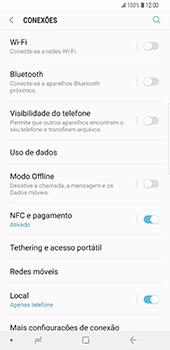 Samsung Galaxy S9 Plus - Internet no telemóvel - Como configurar ligação à internet -  5