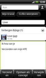 HTC S510e Desire S - E-mail - E-mails verzenden - Stap 11
