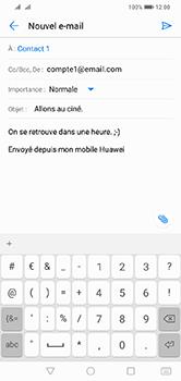 Huawei Y7 (2019) - E-mail - envoyer un e-mail - Étape 8