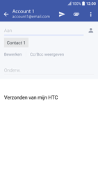 HTC 10 - E-mail - E-mail versturen - Stap 8