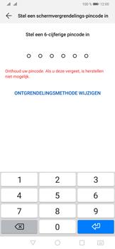 Huawei P30 Pro - Beveiliging - stel in of wijzig pincode voor je toestel - Stap 6