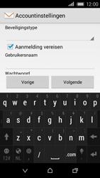 HTC Desire 320 - E-mail - Handmatig instellen - Stap 15