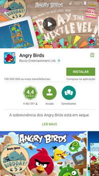 Samsung Galaxy S6 Edge + - Aplicações - Como pesquisar e instalar aplicações -  17