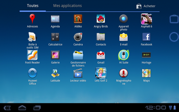 Huawei Mediapad S7-301u - Applications - Télécharger des applications - Étape 3