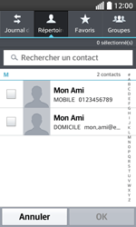 LG F70 - Contact, Appels, SMS/MMS - Envoyer un MMS - Étape 6