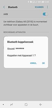 Samsung Galaxy A8 (2018) - Bluetooth - koppelen met ander apparaat - Stap 10
