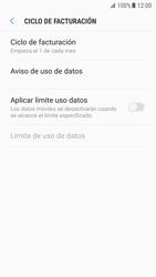 Samsung Galaxy S7 - Android Nougat - Internet - Ver uso de datos - Paso 11