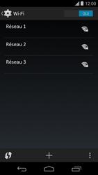Motorola Moto G - Wifi - configuration manuelle - Étape 5