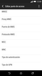 HTC One M8 - Mensajería - Configurar el equipo para mensajes multimedia - Paso 12