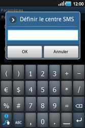 Samsung S5660 Galaxy Gio - SMS - configuration manuelle - Étape 5