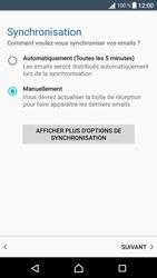 Sony Xperia E5 - E-mail - Configurer l