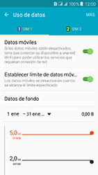 Samsung Galaxy J3 (2016) DualSim (J320) - Internet - Ver uso de datos - Paso 10