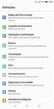 Huawei Y6 (2018) - Internet no telemóvel - Como ativar os dados móveis -  3