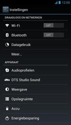Acer Liquid S1 - Internet - Aan- of uitzetten - Stap 4