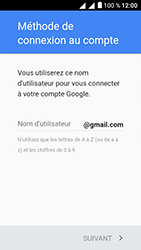 Alcatel U5 - Applications - Créer un compte - Étape 10