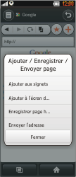 LG BL40 New Chocolate - Internet - Navigation sur Internet - Étape 7