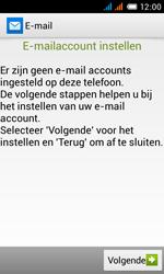 Alcatel OT-4033X Pop C3 - E-mail - e-mail instellen: POP3 - Stap 6