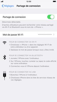 Apple iPhone 7 Plus - iOS 11 - Internet et connexion - Partager votre connexion en Wi-Fi - Étape 8