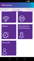 Huawei P8 - Applications - MyProximus - Étape 22