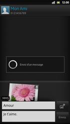 Sony LT26i Xperia S - MMS - Envoi d