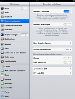 Apple iPad mini - Internet - configuration manuelle - Étape 6