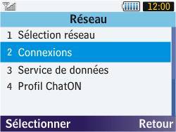 Samsung S3570 Chat 357 - Internet - configuration manuelle - Étape 6
