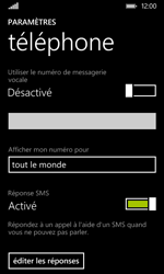 Nokia Lumia 530 - Messagerie vocale - configuration manuelle - Étape 7