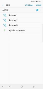 Samsung Galaxy Note 8 - Wi-Fi - Accéder au réseau Wi-Fi - Étape 7