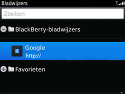 BlackBerry 9720 Bold - Internet - Hoe te internetten - Stap 10