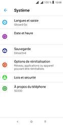 Alcatel 1 - Aller plus loin - Mettre à jour le logiciel interne de votre mobile - Étape 6