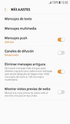 Samsung Galaxy J5 (2017) - Mensajería - Configurar el equipo para mensajes de texto - Paso 7