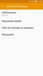 Samsung Galaxy J5 - Mensajería - Configurar el equipo para mensajes de texto - Paso 6